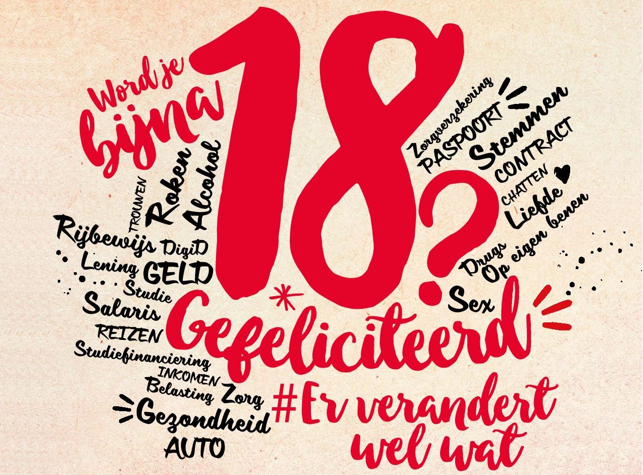 18 jaar geworden 18 geworden   HoeZitDat.info   Gouda 18 jaar geworden